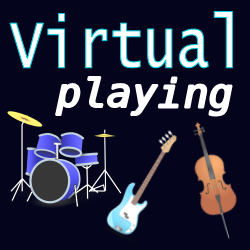 Virtual Playing | Composing virtual drums, bass, strings