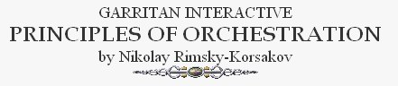 Garritan Principles of Orchestration on-line
