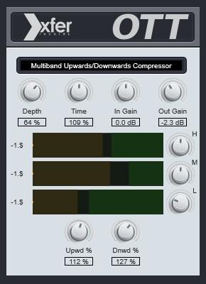 Xfer-OTT multiband compressor